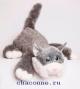 Котик Шалунишка три цвета в ассортименте озвученный 30 см